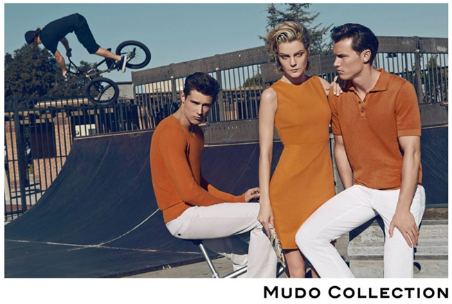 CAMPAIGN Jessica Stam, Henry Barnacle & Danny Schwarz for Mudo Spring 2014 by Koray Birand. www.imageamplified.com, Image Amplified (7)
