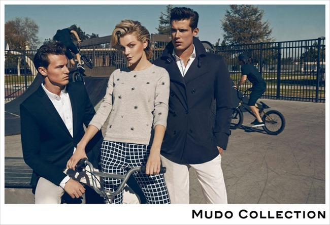 CAMPAIGN Jessica Stam, Henry Barnacle & Danny Schwarz for Mudo Spring 2014 by Koray Birand. www.imageamplified.com, Image Amplified (3)