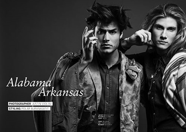 JON MAGAZINE Dorian Reeves & Emilio Flores in Alabama Arkansas by Justin Violini. Polar Burnasatit, Spring 2014, www.imageamplified.com, Image Amplified (1)