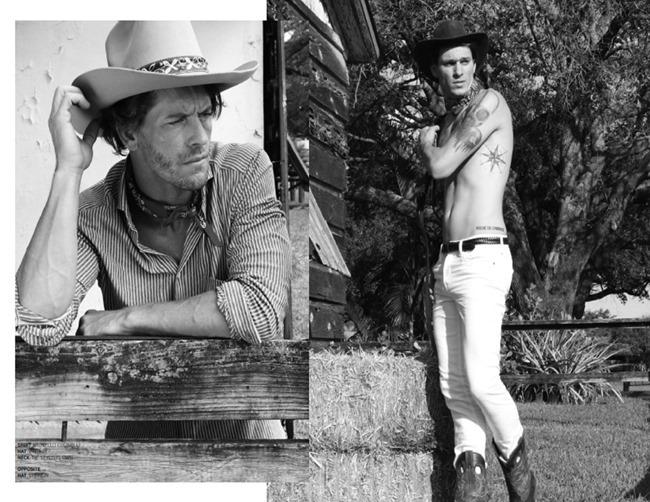 JON MAGAZINE Josh Button in Cowboy by Michael Del Buono. Spring 2014, www.imageamplified.com, Image Amplified (6)