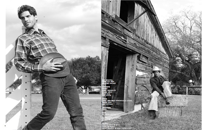 JON MAGAZINE Josh Button in Cowboy by Michael Del Buono. Spring 2014, www.imageamplified.com, Image Amplified (1)