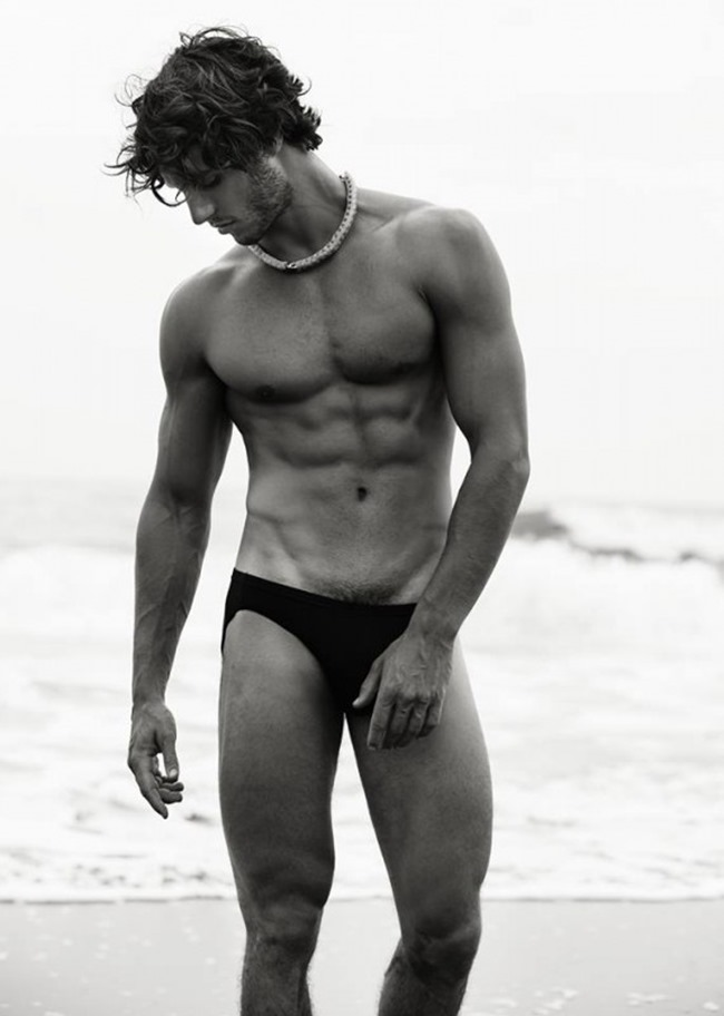 MASCULINE DOSAGE Elias Chigros in From Down Under by Wong Sim. www.imageamplified.com, Image Amplified (2)