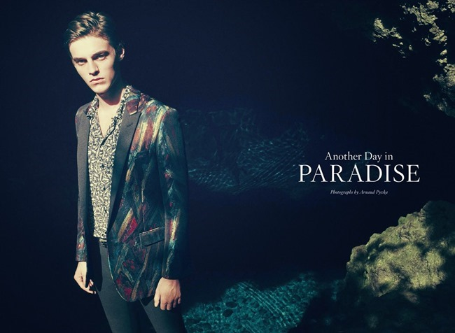 BERGDORF GOODMAN Robbie Wadge in Another Day In Paradise by Arnaud Pyvka. Bruce Pask, Spring 2014, www.imageamplified.com, Image amplified (7)