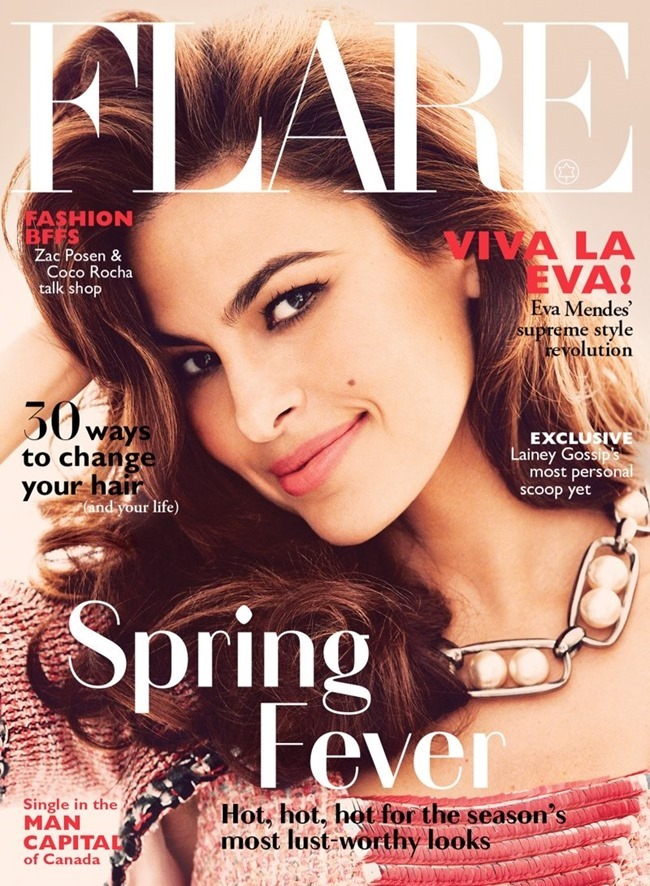 FLARE MAGAZINE Eva Mendes by Guy Aroch. Hayley Atkin, May 2014, www.imageamplified.com, Image Amplified (4)
