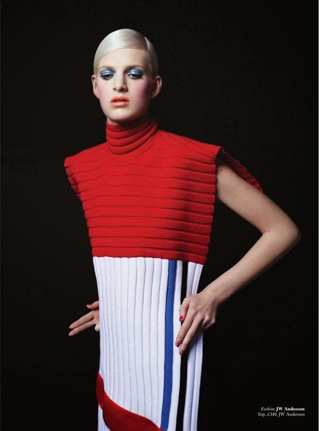 HARPER'S BAZAAR UK Beauty & The Best by Johnny Dufort. Carine Roitfeld, May 2014, www.imageamplified.com, Image Amplified (15)