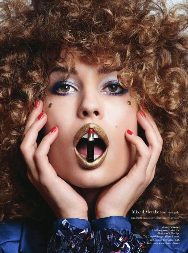 HARPER'S BAZAAR UK Beauty & The Best by Johnny Dufort. Carine Roitfeld, May 2014, www.imageamplified.com, Image Amplified (13)