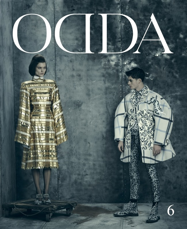 ODDA MAGAZINE Joe Collier & Lyoka Tyagnereba in The Sublime Overstatement by Arnaldo Anaya-Lucca. Julie Ragolia, Spring 2014, www.imageamplified.com, Image Amplified (2)