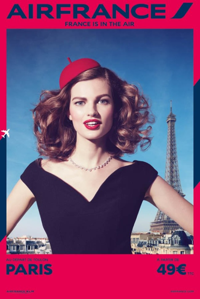 CAMPAIGN Air France, France is in the Air by Sanchez & Mongiello. Spring 2014, www.imageamplified.com, Image Amplified (1)
