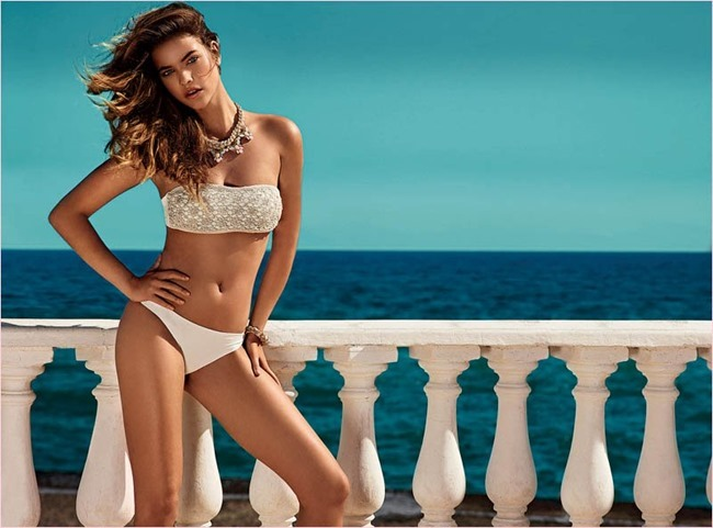 CAMPAIGN Barbara Palvin for Twin Set Beachwear 2014. www.imageamplified.com, Image Amplified (4)