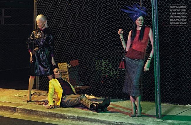 VOGUE ITALIA Kirsten Owen, Kate Goodling & Sadie Pinn in Frames Of Fashion by Francesco Carrozzini. Enrica Ponzellini, April 2014, www.imageamplified.com, Image Amplified (7)