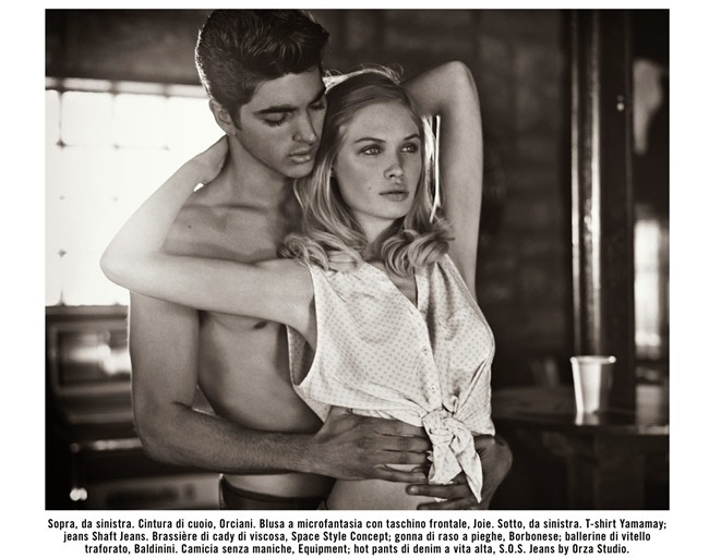 VOGUE ITALIA Suggestions by Vincent Peters. Valentina Serra, April 2014, www.imageamplified.com, Image Amplified (3)