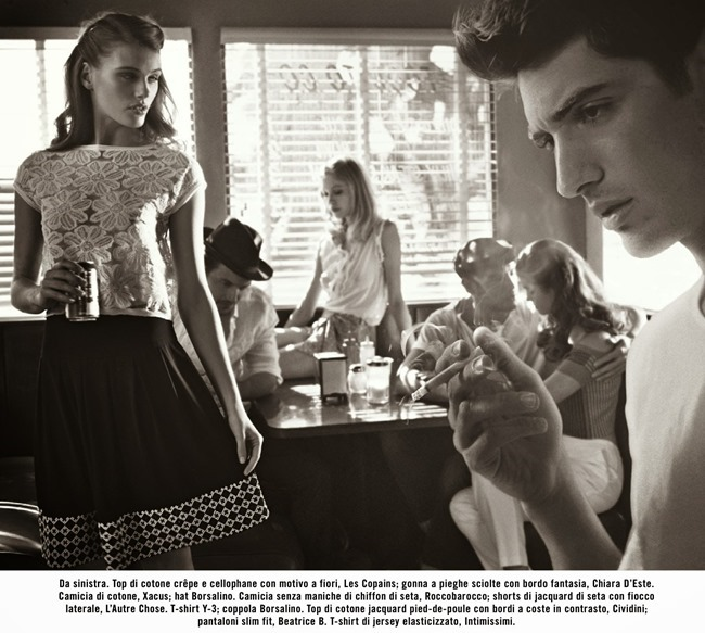 VOGUE ITALIA Suggestions by Vincent Peters. Valentina Serra, April 2014, www.imageamplified.com, Image Amplified (10)