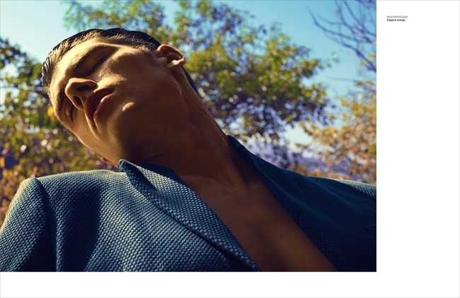 L'OFFICIEL HOMMES SINGAPORE Brian Shimansky in Paradise by Chuando & Frey. Jumius Wong, Jack Wang, Spring 2014, www.imageamplified.com, Image Amplified (11)