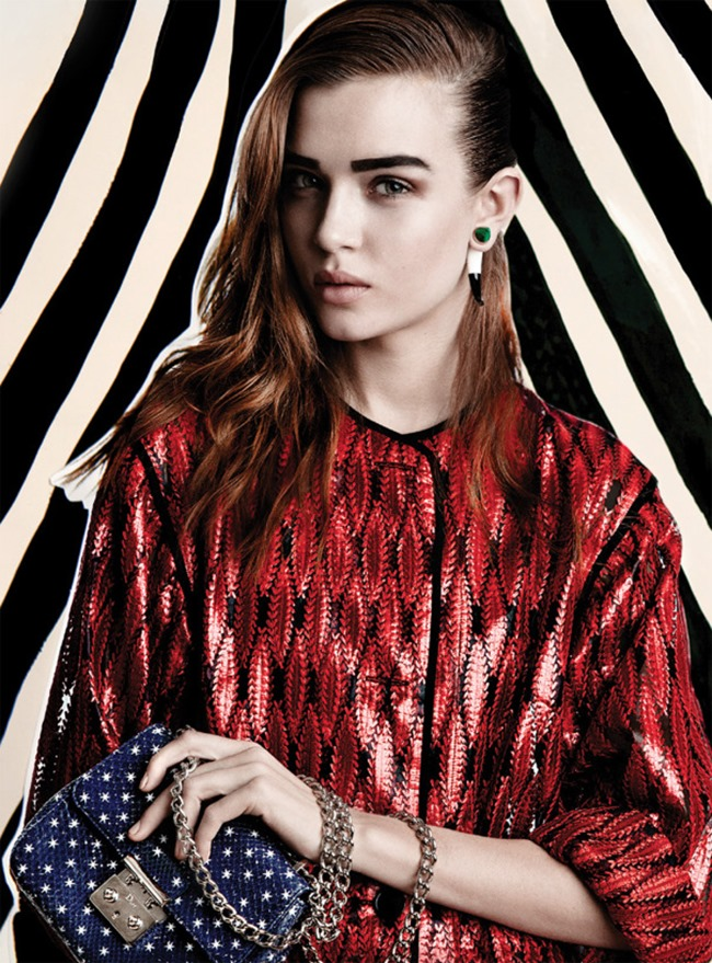 FLAIR MAGAZINE Josephine Skriver in Graffiti & Good Night by Quentin Jones. Darcy Backlar, April 2014, www.imageamplified.com, Image Amplified (4)