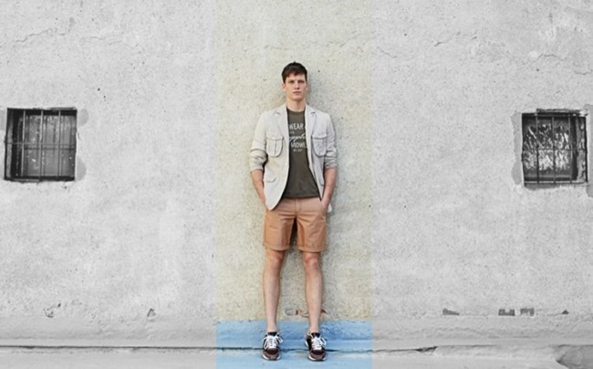 CAMPAIGN Florian Van Bael in Military Green  for El Corte Ingles Spring 2014 by Alejandro Pereira. Daniel Gonzalez, www.imageamplified.com, Image Amplified (4)