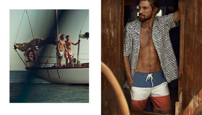 CAMPAIGN Ryan Heavyside & Henrik Fallenius in Active Summer Days for H&M Spring 2014, www.imageamplified.com, Image Amplified (6)