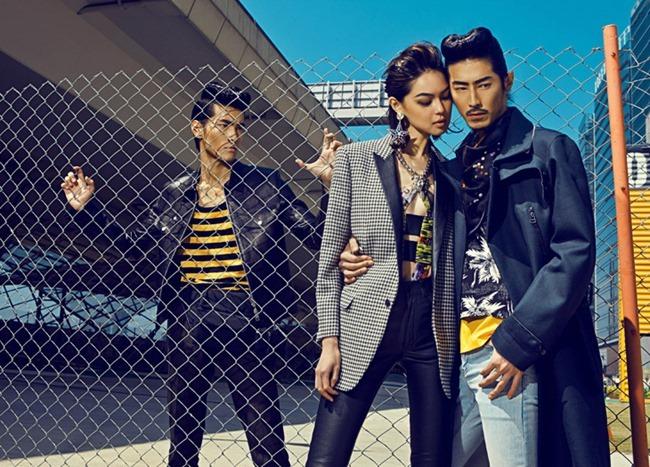 HARPER'S BAZAAR MEN HONG KONG Yang Liu, Wayne Lau, Allen Y & Zhang Xue by Man Tsang, Anson Lau, Spring 2014, www.imageamplified.com, Image Amplified (4)