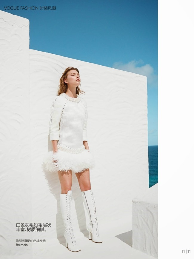 VOGUE CHINA Arizona Muse in White Light by Patrick Demarchelier. Ludivine Poiblanc, May 2014, www.imageamplified.com, Image Amplified (1)