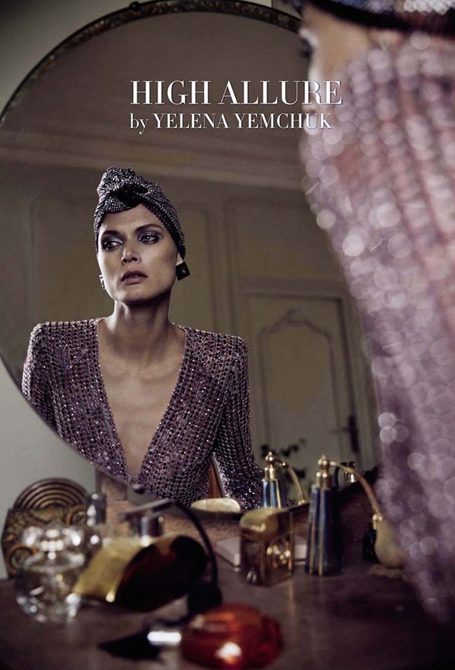 VOGUE ITALIA Malgosia Bela in High Allure. Yelena Yemchuk. March 2014, www.imageamplified.com, Image Amplified (2)