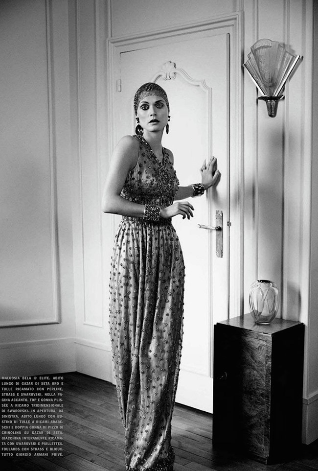 VOGUE ITALIA Malgosia Bela in High Allure. Yelena Yemchuk. March 2014, www.imageamplified.com, Image Amplified (3)