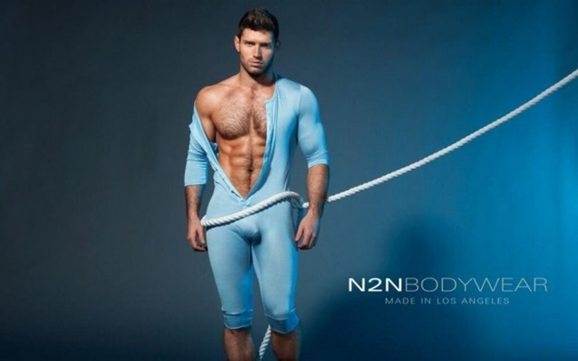 CAMPAIGN Bo Roberts for N2N Bodywear Summer 2014. www.imageamplified.com, Image Amplified (2)