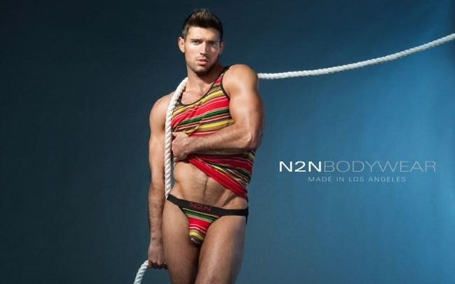 CAMPAIGN Bo Roberts for N2N Bodywear Summer 2014. www.imageamplified.com, Image Amplified (3)
