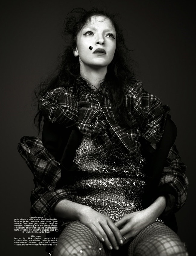 DAZED & CONFUSED MAGAZINE Mariacarla Boscono by Willy Vanderperre. Panos Yiapanis, Summer 2014, www.imageamplified.com, Image Amplified (6)