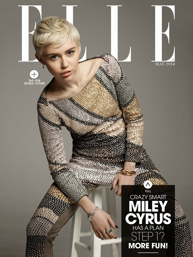 ELLE MAGAZINE Miley Cyrus by Michael Thompson. May 2014, www.imageamplified.com, Image Amplified (1)
