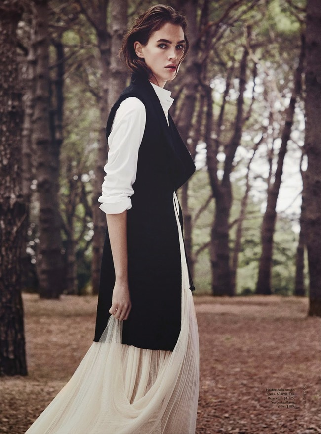 VOGUE AUSTRALIA Crista Cober in Into The Woods by Will Davidson. Christine Centenera, May 2014, www.imageamplified.com, Image Amplified (3)