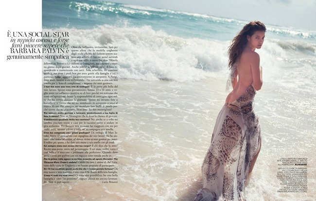 MARIE CLAIRE ITALIA Barbara Palvin in Holiday Diary by David Bellemere. Elisabetta Massari, May 2014, www.imageamplified.com, Image Amplified (16)