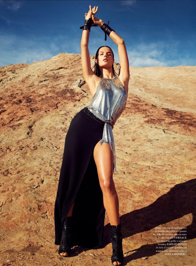 FLARE MAGAZINE Alessandra Ambrosio by Collier Schorr. Sissy Vian, May 2014, www.imageamplified.com, Image amplified (10)