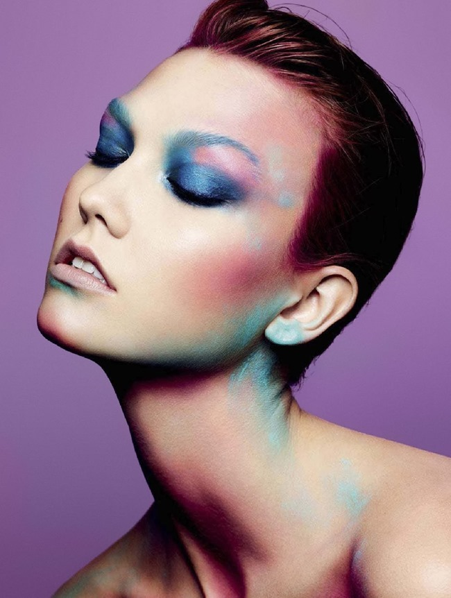 L'EXPRESS STYLES Karlie Kloss in Color Power by Ben Hassett. Mika Mizutani, April 2014, www.imageamplified.com, Image amplified (11)