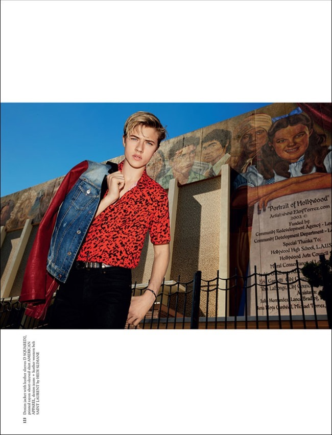 ARENA HOMME  MAGAZINE Lucky Blue by Alice Hawkins, Spring 2014, www.imageamplified.com, Image amplified (2)