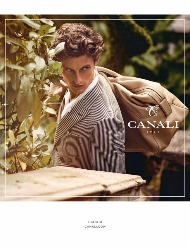 CAMPAIGN Wouter Peelen for Canali Spring 2014. www.imageamplified.com, Image Amplified (2)