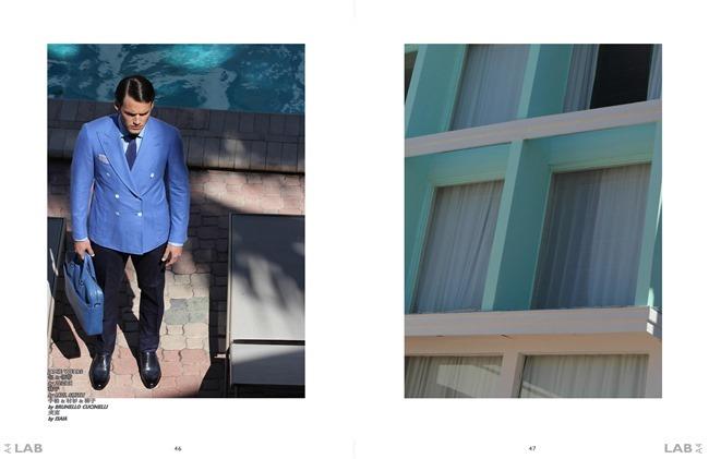 IMAGE AMPLIFIED EXCLUSIVE Kevin Baker, Jamie Hemrick & Ferando Johann in Copacabana by Michael Del Buono. Alexandria Bickerdike, Spring 2014, www.imageamplified.com, Image Amplified (1)