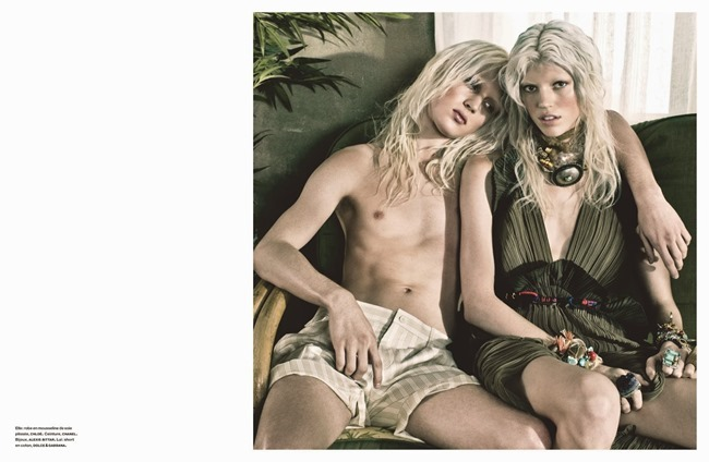 NUMERO MAGAZINE Devon Windsor in Tropique Du Cancer by Victor Demarchelier. Charles Varenne, May 2014, www.imageamplified.com, Image Amplified (9)
