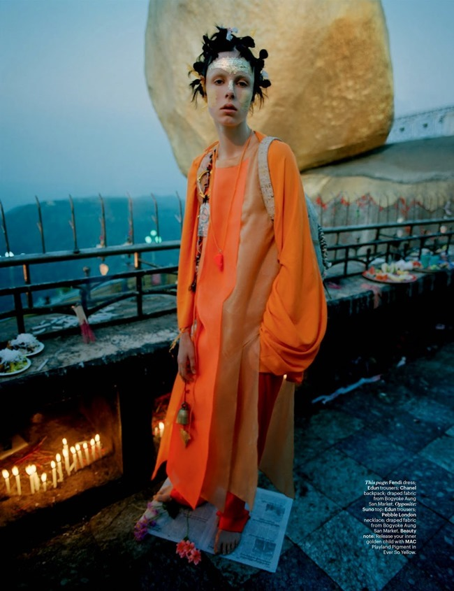 W MAGAZINE Edie Campbell in Gilt Trip by Tim Walker. Jacob K, May 2014, www.imageamplified.com, Image Amplified (15)