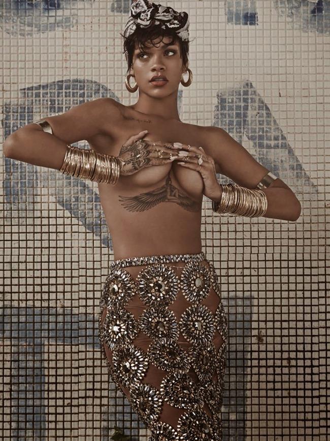 VOGUE BRAZIL Rihanna in RiRi Tropical by Mariano Vivanco. Yasmine Sterea, May 2014, www.imageamplified.com, Image Amplified (14)