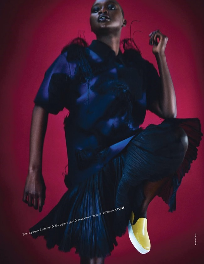 ELLE FRANCE Ataui Deng in Grand Bleu by Alex Franco. Jeanne le Bault, May 2014, www.imageamplified.com, Image Amplified (10)