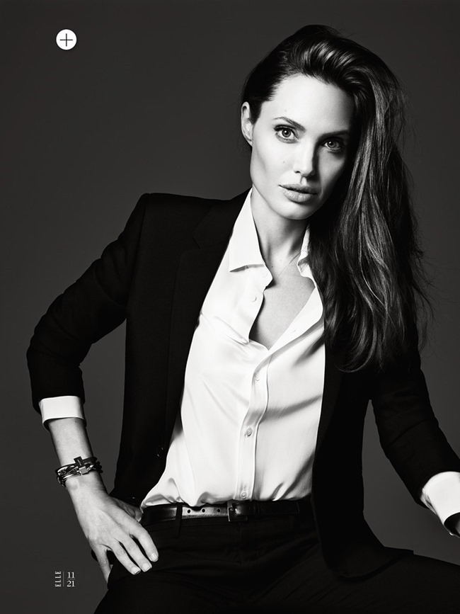 ELLE MAGAZINE Angelina Jolie in Untamed Heart by Hedi Slimane. Joe Zee, June 2014, www.imageamplified.com, Image Amplified (13)