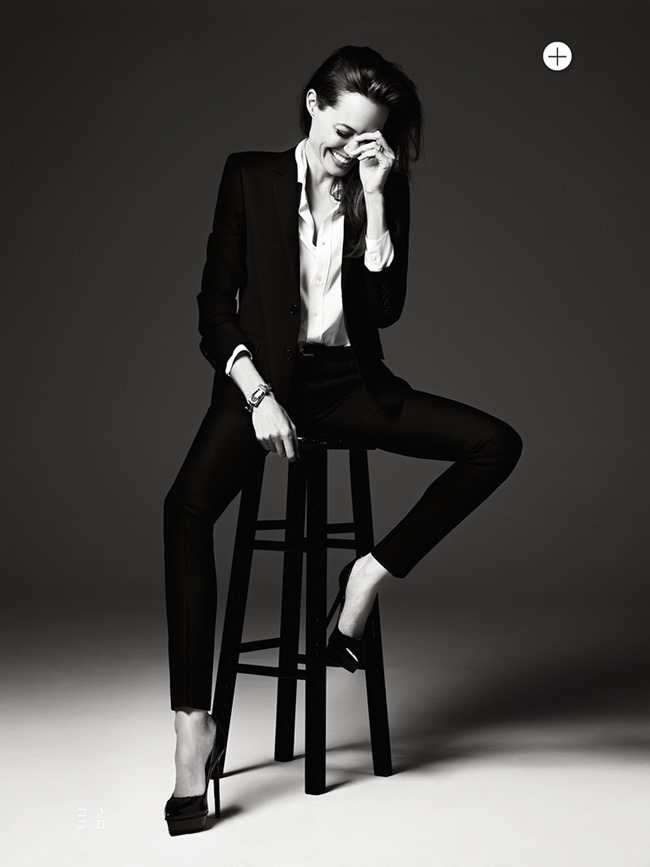 ELLE MAGAZINE Angelina Jolie in Untamed Heart by Hedi Slimane. Joe Zee, June 2014, www.imageamplified.com, Image Amplified (5)