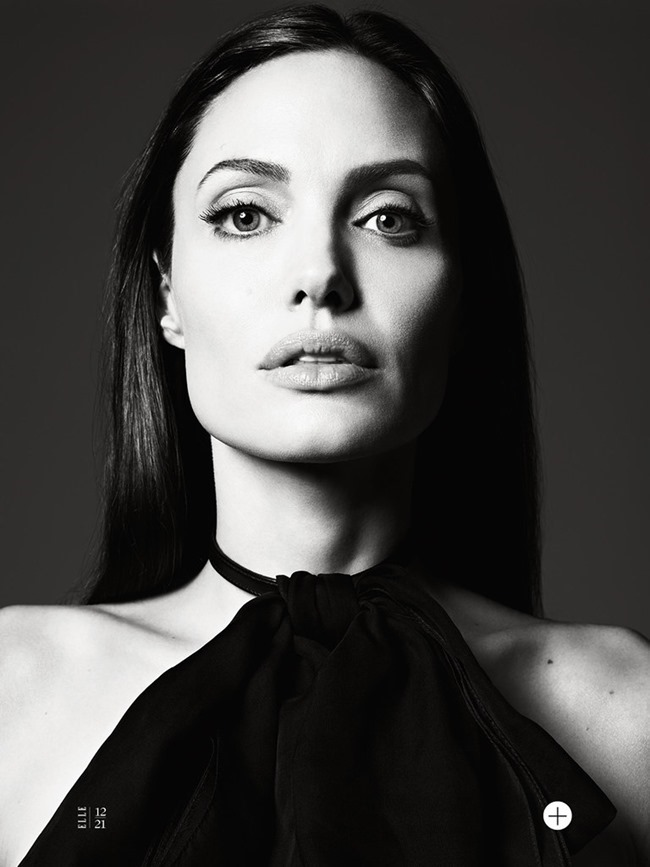 ELLE MAGAZINE Angelina Jolie in Untamed Heart by Hedi Slimane. Joe Zee, June 2014, www.imageamplified.com, Image Amplified (14)