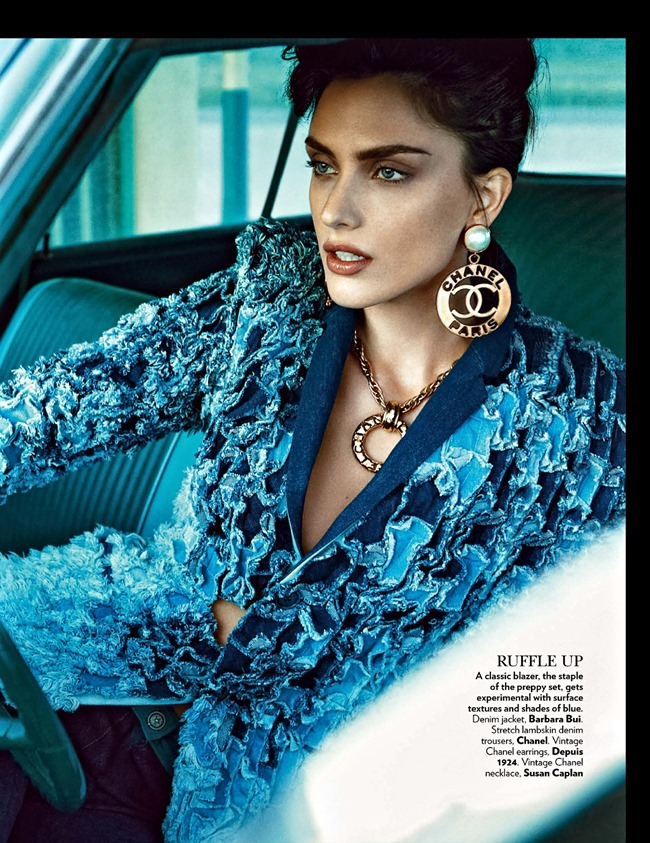 VOGUE INDIA Nathalia Novaes in On The Road by Francesco Carrozzini. Fabio Immediato, May 2014, www.imageamplified.com, Image Amplified