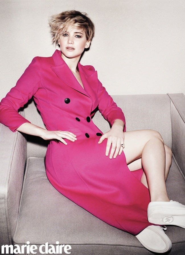 MARIE CLAIRE MAGAZINE Jennifer Lawrence by Jan Welters. June 2014, www.imageamplified.com, Image Amplified (4)