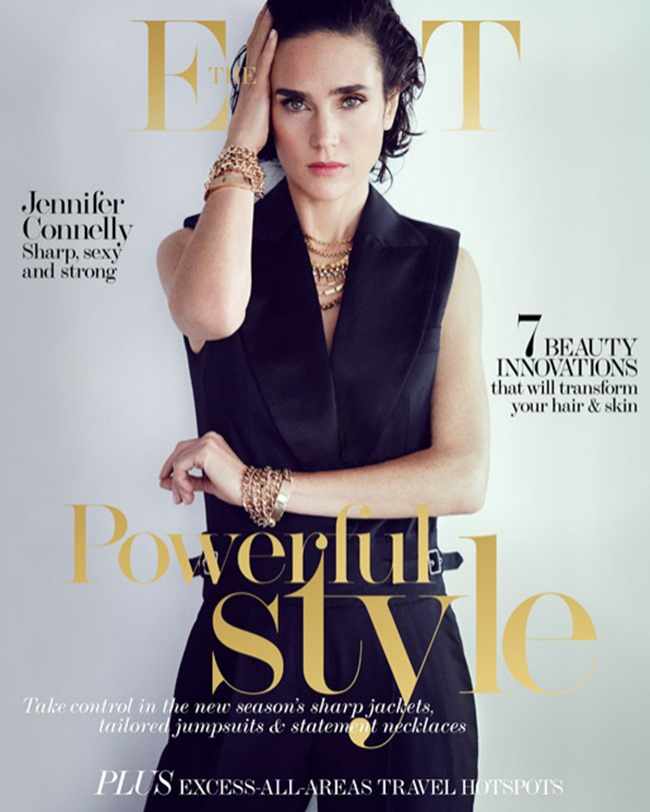 THE EDIT MAGAZINE Jennifer Connelly by Will Davidson. Tracy Taylor, March 2014, www.imageamplified.com, Image Amplified (8)