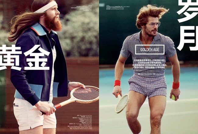 GQ STYLE CHINA Robert Konjic, James Crabtree, Jacey Elthalion & James Hunter in Golden Age by Blair Getz Mezibov. Spring 2014, www.imageamplified.com, Image Amplified (5)