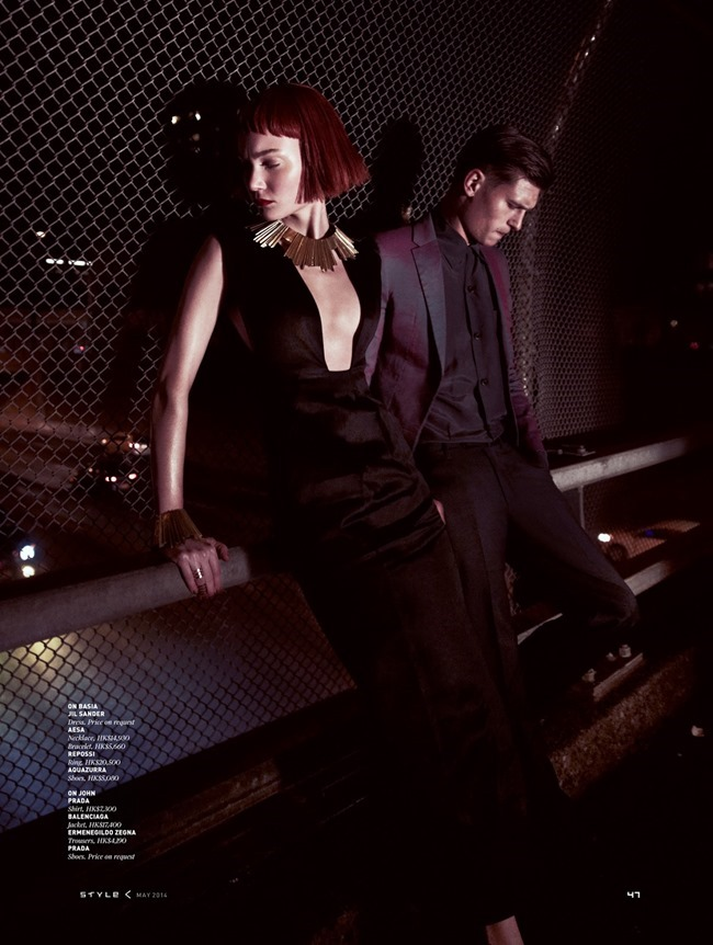 THE SOUTH CHINA MORNING POST STYLE Basia Szkaluba & John Todd by Angelo D'agostino. Connie Berg, May 2014, www.imageamplified.com, Image Amplified (5)
