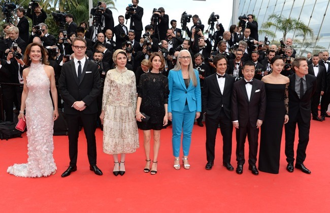 CANNES FILM FESTIVAL COVERAGE Sofia Coppola, Gael Garcia Bernal & Willem Dafoe included in the Members of the Jury Photocall & Red Carpet 2014. www.imageamplified.com, Image Amplified (8)