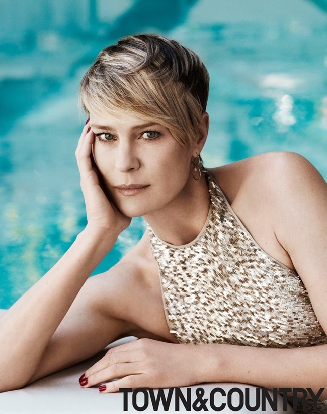 TOWN & COUNTRY MAGAZINE Robin Wright by Paul Wetherell. July 2014, www.imageamplified.com, Image Amplified (3)