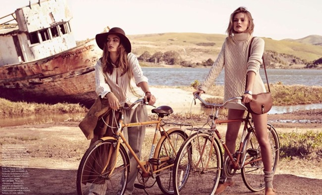 VOGUE PARIS Andreea Diaconu & Edita Vilkeviciute by Mikael Jansson. May 2014, www.imageamplified.com, Image Amplified (6)